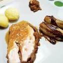 Filet de porc farcis aux pommes et au fromage ''Le Cru du Clocher''