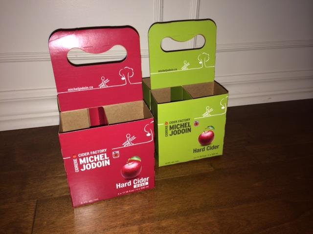 4 packs cidre